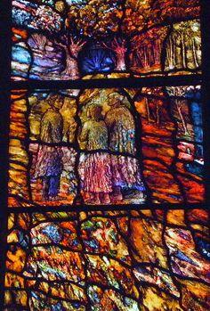Tom Denny-Transfiguration window (detail), Durham by robin.croft, via Flickr