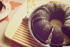 Vegan chocolate espresso bundt cake