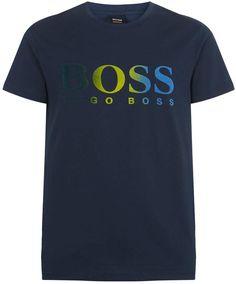 6 /& 12      Gray Jersey Logo Tee Shirt NWT BOSS Hugo Boss Boys Sizes
