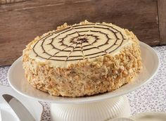 A híres Eszterházy-torta legfinomabb változata - Jobb, mint a cukrászdában Hungarian Cake, Hungarian Recipes, Sweet Recipes, Cake Recipes, Dessert Recipes, Torte Cake, Cake Trends, Chocolate Hazelnut, Sweet Cakes