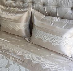 Alıntı Crochet Borders, Home Bedroom, Home Textile, Bed Spreads, Girl Room, Bed Sheets, Duvet Covers, Bed Pillows, Pillow Cases