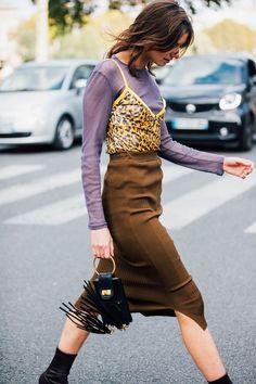 Paris Fashion Week S/S 2018 Street Style – FaShionFReaks