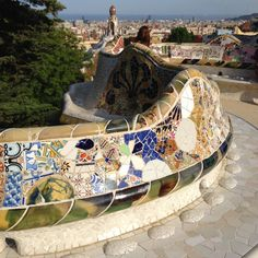 One of my favorite places of all time! Gaudi's Parc Guell.