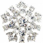 Crystal Star Wedding Pin