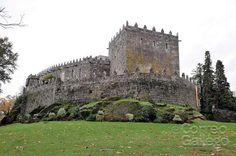 Galicia. Pontevedra. Castillo de Soutomaior, el feudo de Pedro Madruga