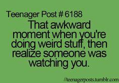 That awkward moments O_O