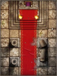 Dungeon Tiles Throne Room by SaintJG