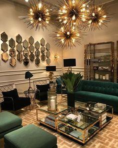 Home Room Design, Interior Design Living Room, Living Room Designs, Living Room Inspiration, Home Decor Inspiration, Home Living Room, Living Room Decor, Elegant Living Room, Luxury Home Decor