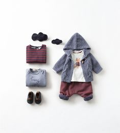ZARA - MINI - baby boy outfit