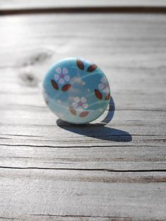 Daisy Ring Shabby Chic Vintage Inspired by SecondEditionJewelry, $15.00
