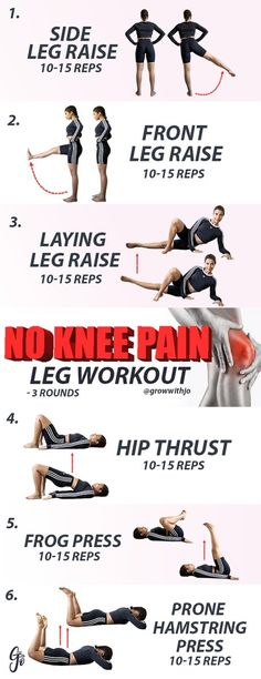 squat gym squat gym workout Do your knees hurt every time you climb the stairs, bend over, or squat down at the gym? Does this prevent you from doing . Knee Strengthening Exercises, Aerobic Exercises, Bad Knee Exercises, Glute Workouts, Kettlebell, Crossfit, My Knee Hurts, Yoga Fitness, How To Strengthen Knees