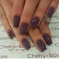 Acrylic ballerina shapes The best new nail polish colors and trends plus gel manicures, ombre nails, Fall Nail Colors, Nail Polish Colors, Winter Nails Colors 2019, Sns Nails Colors, Nail Colors For Winter, January Nail Colors, Nail Ideas For Winter, Halloween Nail Colors, November Nails