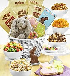 The Popcorn Factory Deluxe Childrens Easter Basket Giveaway!... sweepstakes IFTTT reddit giveaways freebies contests