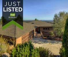 If you're looking for a home with the 'wow factor', this is it!  JUST LISTED: Gorgeous custom built home perched atop Awbrey Butte in NW Bend. Stunning panoramic views from every room!  >>1295 NW Constellation Avenue, Bend OR 97701 || Fred Real Estate Group | hello@fredrealestate.com | BuyAHomeInBend.com || #RealEstate #BendOregon