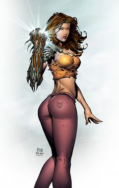 "Witchblade by David Finch / SeanE ✮✮Feel free to share on Pinterest"" ♥ღ www.UNOCOLLECTIBLES.COM"