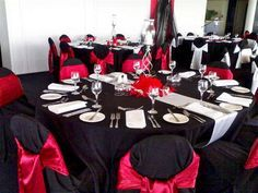 red and black and silver wedding decor black and red wedding decorations