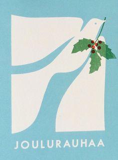 Swedish christmas card design