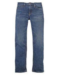 Ralph Lauren Childrenswear Boys 8-20 Vintage-Look Slim Jeans  Bank Blu
