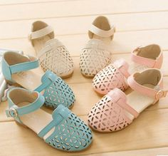 Online Shop 2015 New Hollow Out children sandals US Size 26-35 Zapatos para ninos Girl's Shoes Leather Shoes Aliexpress Mobile