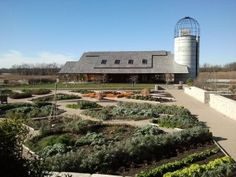 The Heartland Harvest Garden--still beautiful in December!