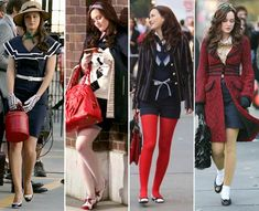 Gossip Girl Blair Waldorf Fashion | Fashion, Music and More: Se insperi em Blair Waldorf de Gossip Girl.