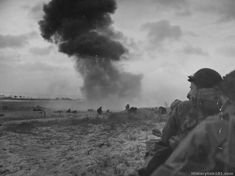 Nazi guns pound Utah Beach as American troops push into Normandy, June 1944 Normandy Ww2, D Day Normandy, Normandy Invasion, Normandy Beach, Normandy France, D Day Beach, D Day Invasion, D Day Landings, American History