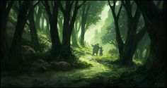 Leaving The Forest by andreasrocha on deviantART