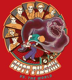 Reverbcity Shop - Camisetas/T-shirts Scott Pilgrim Vs. The World $69
