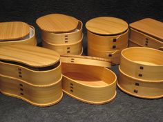 magewappa - Traditional Japanese bento box. Made by carefully carving a thinly…