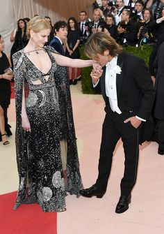Cutest couple on the red carpet definitely goes to Nicole Kidman and Keith Urban.