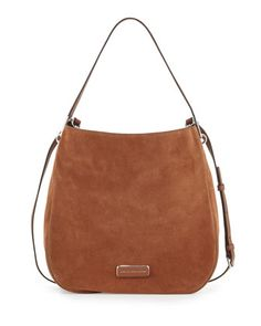 Ligero Sporty Suede Hobo Bag, Cinnamon Stick by MARC by Marc Jacobs at Neiman Marcus.