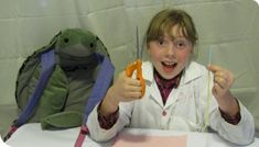 """the wily Super Awesome Sylvia. Stager said that when adults get out of the way and let kids shine, they produce amazing things, like """"Sylvia's Super Awesome Mini-Maker Show."""" Sylvia's only 11, but she's already taken the world by storm by challenging herself with complicated projects in science, technology, engineering and math in her own fun and quirky way. She's become an Internet phenom, and President Obama even invited her to the White House Science Fair."""