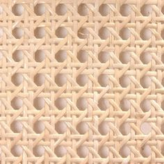 """PRE-WOVEN CANE. 1/2"""" Mesh Pre-Woven Cane - 18"""" Or 24"""" Wide, Store ID: 205598 Buy 12 – 599 at $1.19 Per Inch, Buy 600+ at $1.07 Per Inch"""