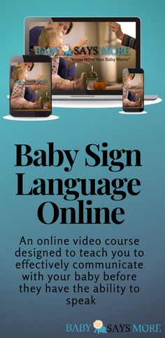 Baby Says More Grow n' Tell is an online video course designed to teach you to effectively communicate with your baby using basic gestures and signs. Signing gives your baby a tool to communicate their needs before they have the ability to speak. Preschool Learning, Learning Activities, Teaching, Sign Language Phrases, Baby Ruth, Languages Online, American Sign Language, Online Video, Toddler Fun
