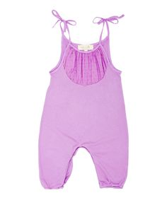 Romper ~ Lilac Lottie Playsuit - Infant | Daily deals for moms, babies and kids
