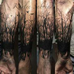 . Realistic Tattoo Sleeve, Tree Sleeve Tattoo, Nature Tattoo Sleeve, Tattoo Sleeve Designs, Nature Tattoos, Tattoo Designs Men, Sleeve Tattoos, Wrist Tattoos For Guys, Cool Forearm Tattoos