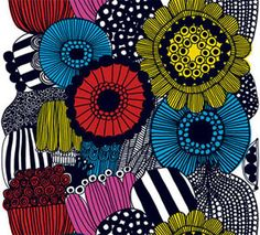 my fabric from my old house...use in new DR? Marimekko Fabric - Fall 2009 Collection