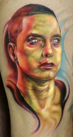 Eminem Tattoo On Pinterest