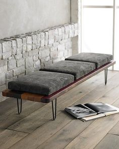 Cool Indoor Benches to Maximize Seating Options | InteriorCrowd www.interiorcrowd.com/blog