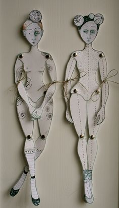 Paper Dolls by Johanna Flanagan                                                                                                                                                                                 More
