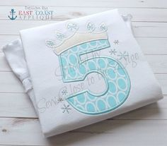 Original - Adorable Girls Birthday - Frozen Ice Princess Inspired T-Shirt - Personalized Girl Birthday Shirt Applique Patterns, Applique Designs, Embroidery Applique, Frozen Birthday Party, 3rd Birthday Parties, Frozen Party, Birthday Ideas, Happy Birthday, 2nd Birthday Outfit