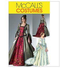 Misses Victorian Costume McCalls Pattern