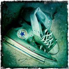 My old green convers. Green Converse, Look Good Feel Good, My New Room, Chuck Taylor Sneakers, Anastasia, Rocks, Vans, Characters, Stylish