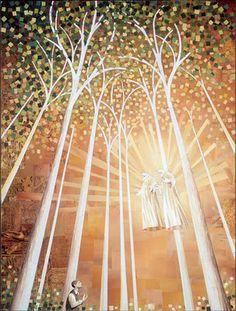 Joseph Smith saw God the Father and Jesus Christ. Joseph Smith, Spiritual Photos, Pictures Of Christ, Art Pictures, Sacred Groves, Saints, Vision Art, Lds Art, Jesus Cristo