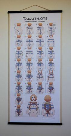 SHIBAKU – Poster Japanese Rope, Rope Knots, Rope Braid, Rope Tying, Rope Art, Erotic Art, Diy And Crafts, Dungeon Room, Sailor Knot