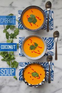 Carrot Coconut Soup