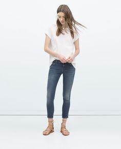 Image 1 of CAPRI JEANS from Zara