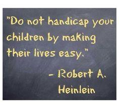 Do not handicap