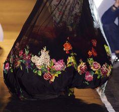 Skirt full of roses - Jean Paul Gaultier