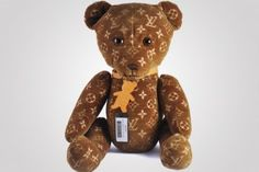 Louis Vuitton's limited edition Teddy Bear retails for $9000 at Toy Tokyo store in NYC
